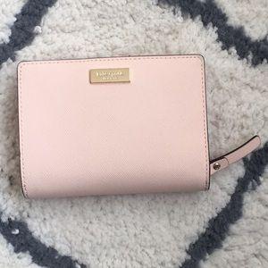 Peach Kate Spade wallet